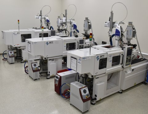 Cleanroom Molding Presses
